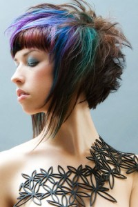 temporary hair dye