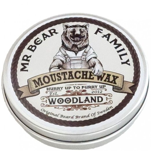 mr bear family moustache wax