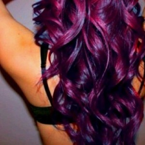 purple hair dye for dark hair